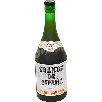 GRANDE DE ESPAÑA Brandy 15 años gran reserva botella 70 cl Botella 70 cl