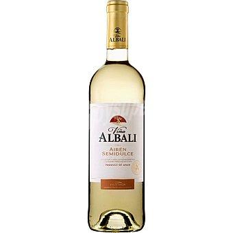 Viña Albali Vino blanco semidulce de la Tierra de Castilla Botella 75 cl