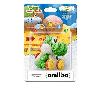 Nintendo Figura Amiibo Yoshi de lana color verde, compatible con juego Yoshi's Wolly World 1 unidad