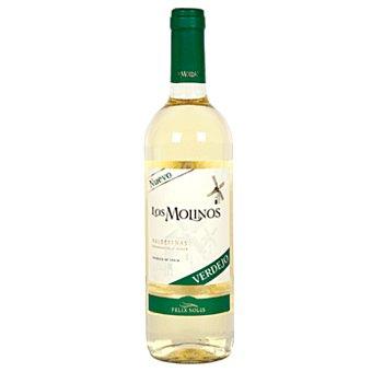 Los Molinos Vino Blanco Valdepeñas Botella 75 cl