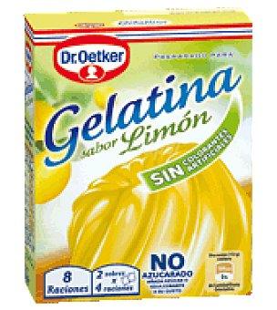 Dr. Oetker Gelatina limón Envase de 24gr