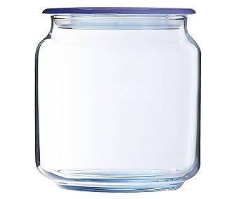 Luminarc Bote de vidrio color azul para conservación y almacenaje de alimentos, 0,5 litros de capacidad, modeo Ice Blue, serie Rondo 1 unidad