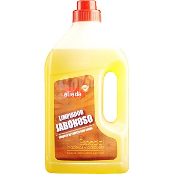 Aliada Limpiador jabonoso especial maderas y parquets Botella 1 l