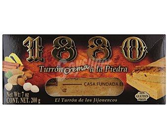 1880 Turrón blando de crema a la piedra 200 gramos