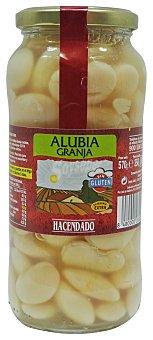 Hacendado Alubia cocida granja Tarro 570 g escurrido 350 g