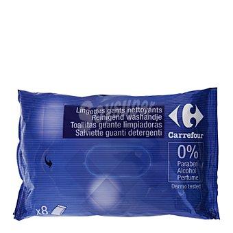 Carrefour Toallitas guante limpiadoras 8 ud