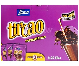 TIRCAO Cacao en polvo instantáneo 2,25kg