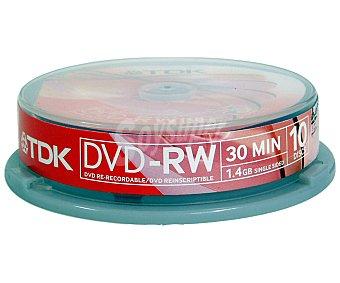 TDK DVD RW 1,4GBX10