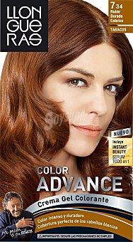 Llongueras Tinte color Advance Nº 7.34 1 ud
