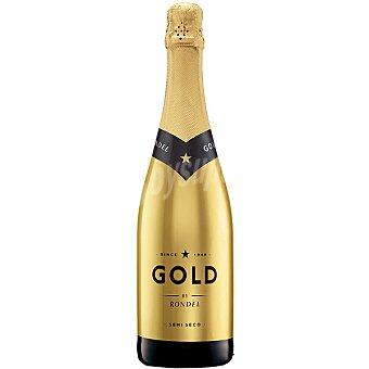 GOLD BY RONDEL Cava semiseco Botella 75 cl