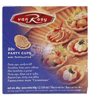 VAN ROOY Mini Tartaletas 20 ud