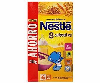 Nestlé Papilla en polvo de 8 cereales con Bífidus desde 6 meses 1200 g