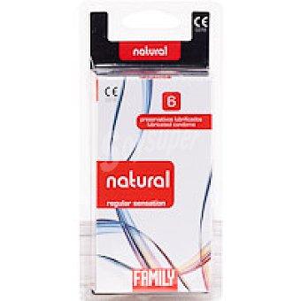 Family Preservativo Natural 6 unidades