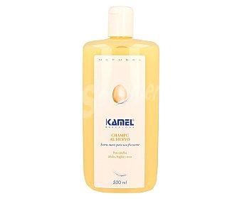 Kamel Champú al huevo para cabellos débiles, frágiles y secos 500 ml