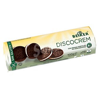 Beiker galletas discocream SIN GLUTEN 100 gr