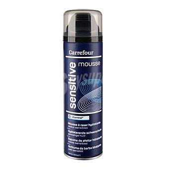 Carrefour Espuma de afeitar hidratante pieles sensibles 250 ml