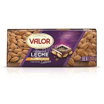 Valor Chocolate con leche y almendras Tableta 250 g