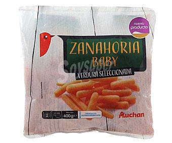 Auchan Bolsa de zanahorias baby 400 gr