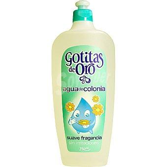 Gotitas de Oro Agua de colonia sin irritaciones bote 750 ml Bote 750 ml