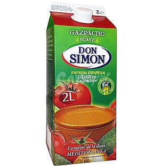 DON SIMON gazpacho suave envase 2 l