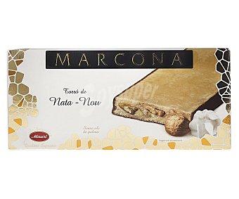 Marcona Turrón de nata y nuez suprema Tableta 250 g