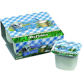 La Fageda Yogur bífidus natural Pack 4 unidades 125 g