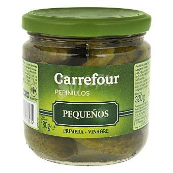 Carrefour Pepinillos en vinagre pequeños 180 g
