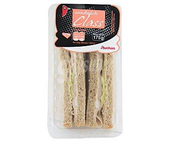 Auchan Sandwich de pavo 175 gr