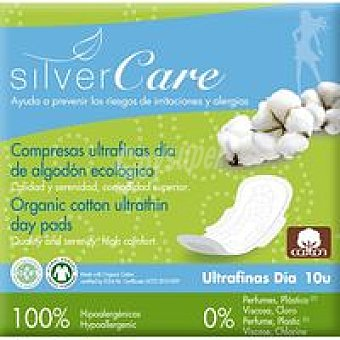 Silvercare Compresa Silvercare Ultra Día Paquete 10 unid