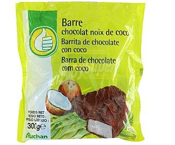 Productos Económicos Alcampo Barritas de chocolate rellenas de coco 300 gr