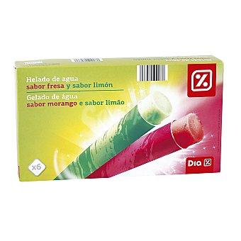DIA Helado de hielo tropical fresa y lima-limón pack 6 uds Pack 6 uds