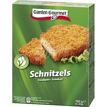 Gourmet Garden escalopes vegetarianos de soja estuche 180 g pack 2x90g