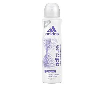 DESPUBLICADAS POR ADMIN Desodorante spray para mujer antitranspirante 24 horas adidas adipure 150 mililitros 150 mililitros