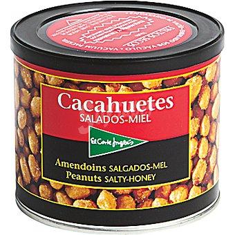 El Corte Inglés Cacahuetes salados-miel Lata 311 gramos