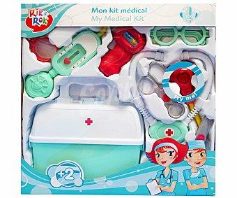 Rik&Rok Auchan Maletín de Accesorios de Médico 1 Unidad