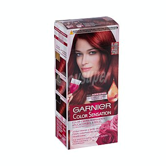 Color Sensation Garnier Tinte Rojo Intenso Nº 6.60 Caja 1 ud