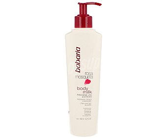 Babaria Body milk antiestrias rosa mosqueta 400 ml
