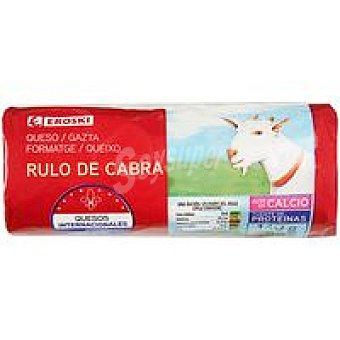 Eroski Queso rulo de cabra 140 g