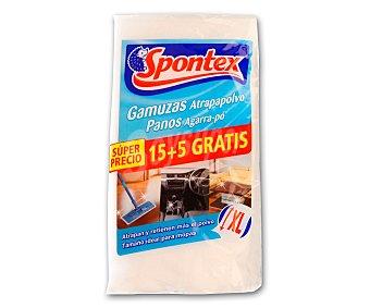 Spontex Gamuzas atrapapolvo 15+5 1 ud