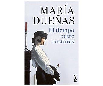 Editorial Booket El tiempo entre costuras, MARÍA DUEÑAS, libro de bolsillo. Género: narrativa. Editorial Booket.