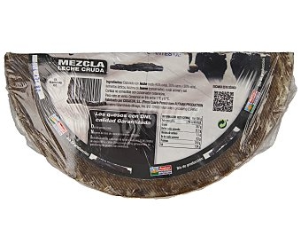 ALCAMPO PRODUCCIÓN CONTROLADA Queso mezcla Ibérico curado auchan prodcción controlada 500.0 Aproximados