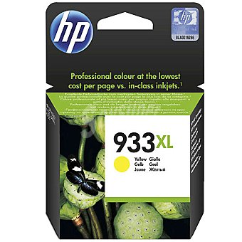 HP Nº 933 XL cartucho color amarillo