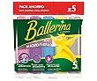 Bayeta Microfibras 5 uds Ballerina