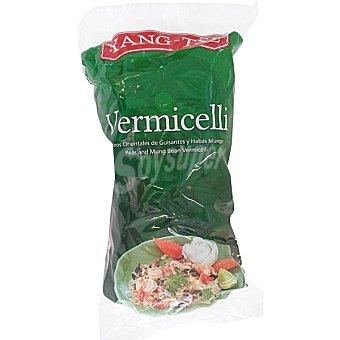 YANG-TSE Vermicelli Fideos orientales de guisantes y habas mungo Envase 100 g