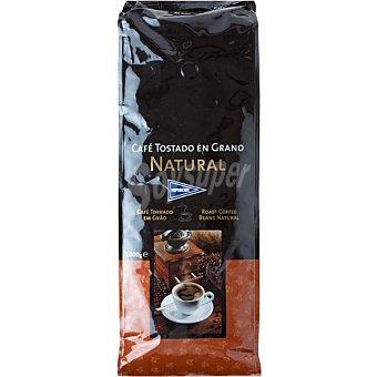 Hipercor Café natural en grano Bolsa 1 kg