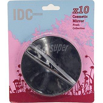 IDC DESING Pinza de depilar + espejo blister 1 unidad