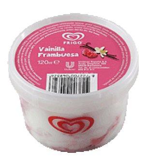 Frigo Tarrina de vainilla/frambuesa 120 ml