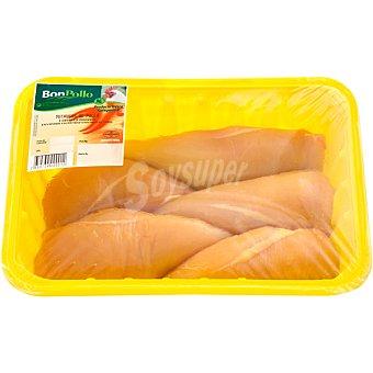 BONPOLLO Pechuga de pollo formato ahorro bandeja 1,2 kg peso aproximado 2 kg