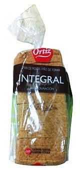 Ortiz Pan de molde integral 410 gramos
