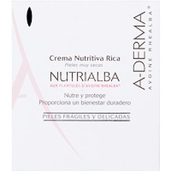 A-Derma Nutrialba Crema Nutritiva Rica Tarro 50 ml